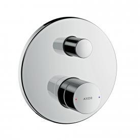 AXOR Uno concealed single lever bath mixer, zero handle chrome