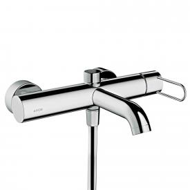 AXOR Uno exposed single lever bath mixer, with loop handle chrome