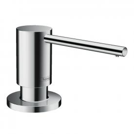 Hansgrohe A41 washing-up liquid & lotion dispenser, round chrome