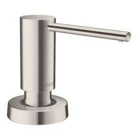Hansgrohe A51 washing-up liquid & lotion dispenser, round stainless steel