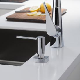 Hansgrohe A71 washing-up liquid & lotion dispenser, square chrome