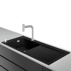 Hansgrohe C51 sink combination 450 with draining board