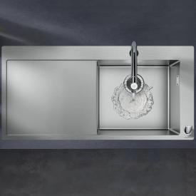 Hansgrohe C71 sink combination 450 with draining board chrome