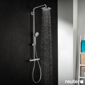 Hansgrohe Croma 220 Showerpipe, EcoSmart