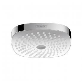 Hansgrohe Croma Select E 180 2jet overhead shower white/chrome
