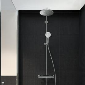 Hansgrohe Crometta S 240 Air Showerpipe Mitigeur thermostatique 1 jet - chrome