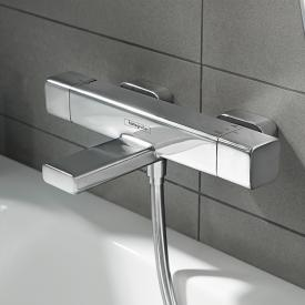Hansgrohe Ecostat E exposed bath thermostat