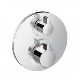 Hansgrohe Ecostat S concealed thermostat, for 2 outlets