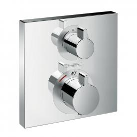 Hansgrohe Ecostat Square concealed thermostat, for 1 outlet