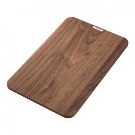 Hansgrohe solid wood chopping board walnut