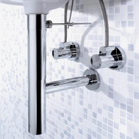 Hansgrohe Flowstar siphon set with angle valves chrome