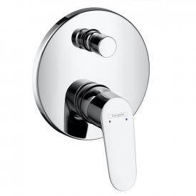Hansgrohe Focus concealed, single lever bath mixer