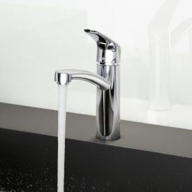 "Hansgrohe Focus M41 single lever kitchen mixer with 3/8"" connections"