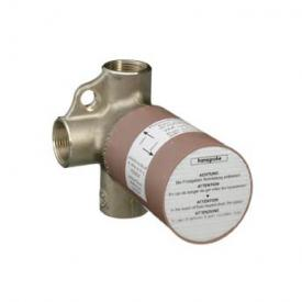 "Hansgrohe installation unit for Trio universal shut-off & diverter valve 3/4"""
