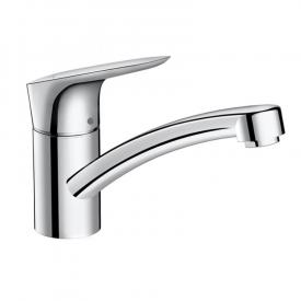 Hansgrohe Logis M31 single lever kitchen mixer 120 for open hot water heaters