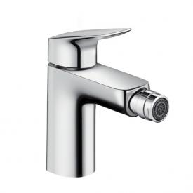 Hansgrohe Logis single lever bidet mixer with pop-up waste set