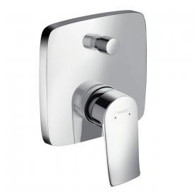 Hansgrohe Metris concealed, single lever bath mixer