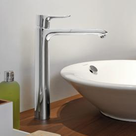 Hansgrohe Metris single lever basin mixer 260, for washbowl without waste set