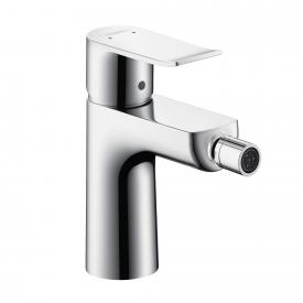 Hansgrohe Metris single lever bidet mixer with pop-up waste set