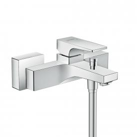 Hansgrohe Metropol exposed single lever bath mixer, with lever handle chrome