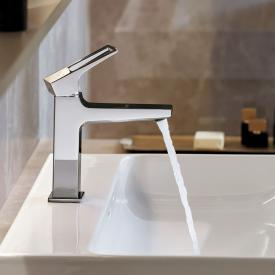 Hansgrohe Metropol single lever basin mixer 110, with loop handle, with waste set