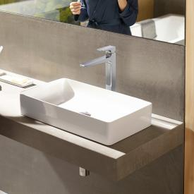 Hansgrohe Metropol single lever basin mixer 260, with lever handle, with waste set chrome