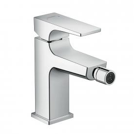 Hansgrohe Metropol single lever bidet mixer, with lever handle, with waste set chrome