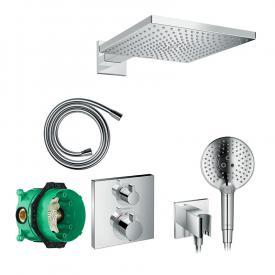 Hansgrohe Raindance E & Ecostart Square, shower system