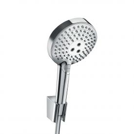 Hansgrohe Raindance Select S shower bracket set 120 3jet PowderRain with shower hose 160 cm