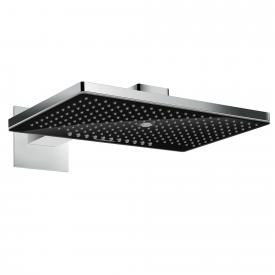 Hansgrohe Rainmaker Select 460 3jet overhead shower with shower arm black/chrome