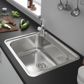 Hansgrohe S41 built-in sink 500/400