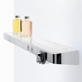 Hansgrohe ShowerTablet Select 700 universal thermostat with 2 outlets white/chrome
