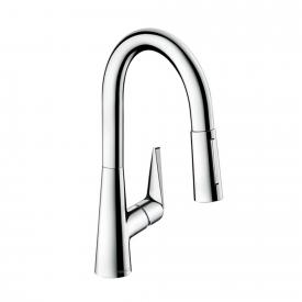 Hansgrohe Tails S single lever kitchen mixer 160 with pull-out spout chrome