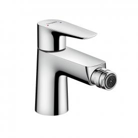 Hansgrohe Talis E single lever bidet mixer with push-open waste set