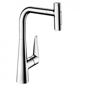 Hansgrohe Talis Select M51 kitchen fitting 300 with pull-out dual spray
