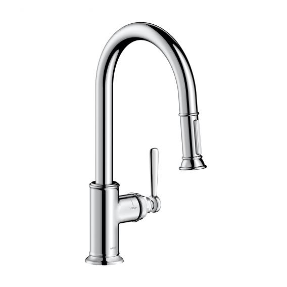 AXOR Montreux single lever kitchen mixer with pull-out spout chrome