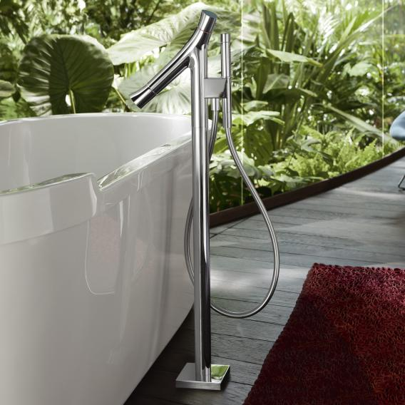 "AXOR Starck Organic floorstanding bath thermostat, 1/2"""