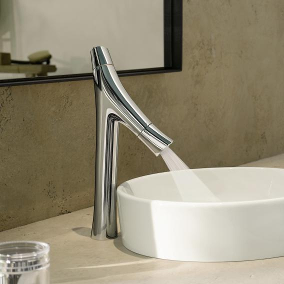 AXOR Starck Organic two lever basin mixer 170, for washbowls