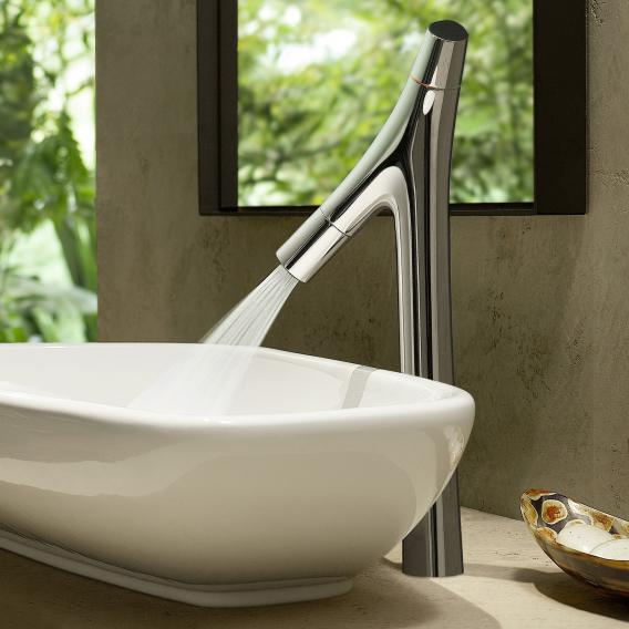 AXOR Starck Organic two lever basin mixer 240, for washbowls