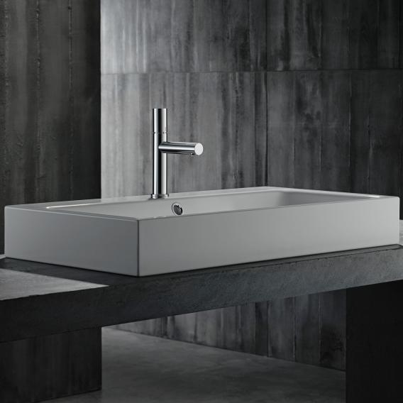 AXOR Uno single lever basin mixer 110, zero handle chrome, without waste set