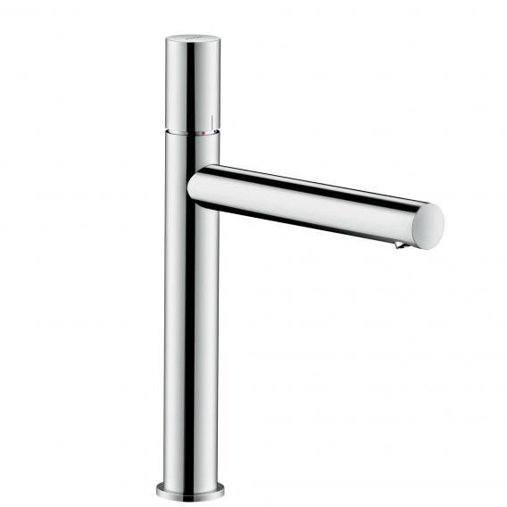 AXOR Uno single lever basin mixer 200, zero handle, with waste set chrome