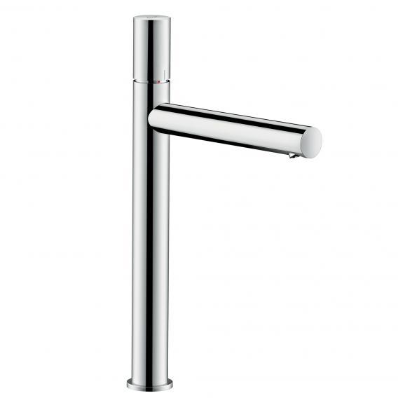 AXOR Uno single lever basin mixer 260, zero handle, with waste set chrome