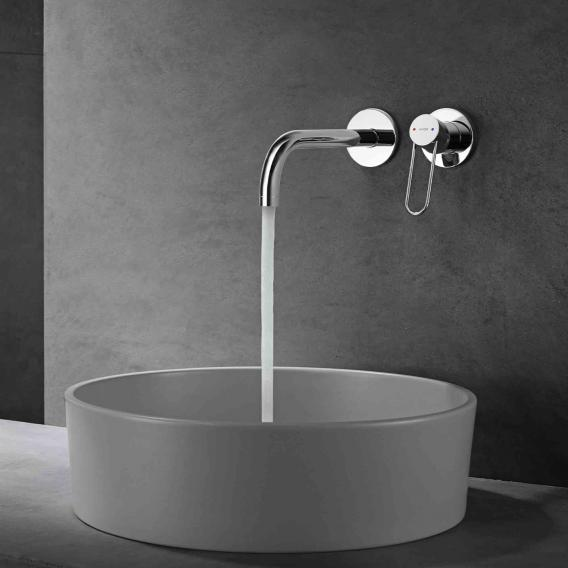 AXOR Uno wall-mounted single lever basin fitting projection: 225 mm, chrome