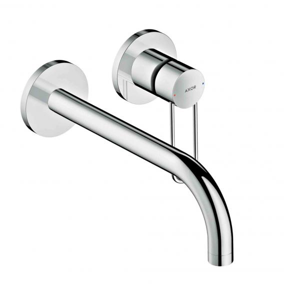 AXOR Uno wall-mounted single lever basin mixer projection: 225 mm, chrome