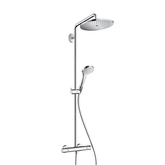 Hansgrohe Croma Select 280 Air 1jet Showerpipe, EcoSmart chrome