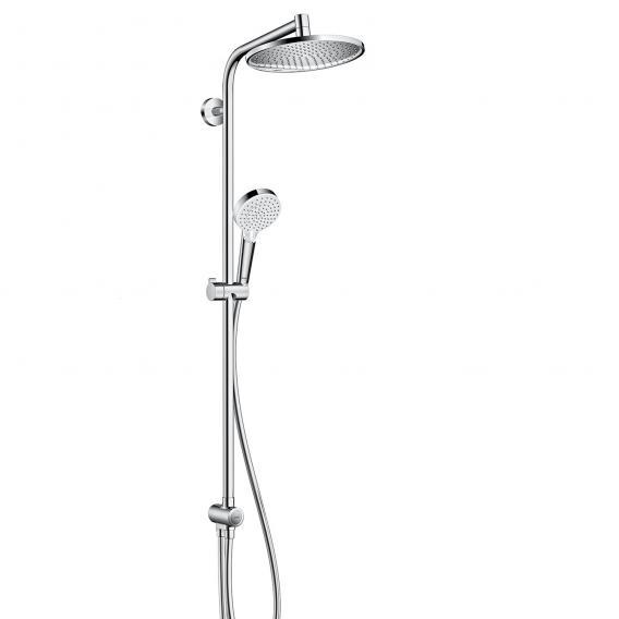Hansgrohe Crometta S 240 1jet Showerpipe Reno, EcoSmart chrome