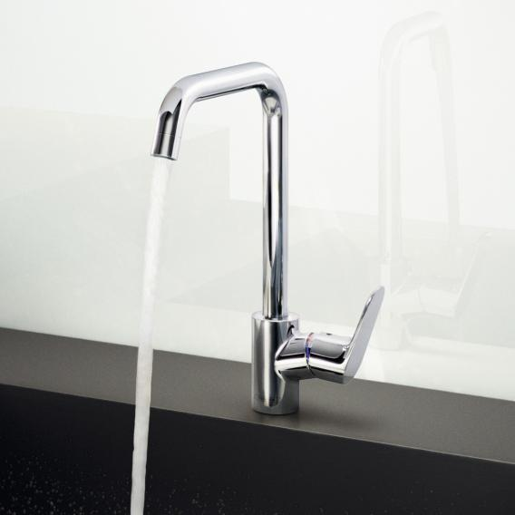 Hansgrohe Focus M41 single lever kitchen mixer chrome