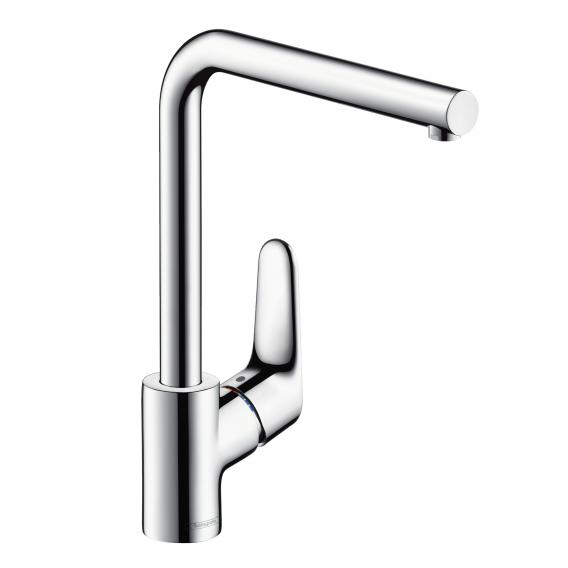 Hansgrohe Focus M41 single lever kitchen mixer with swivel spout chrome