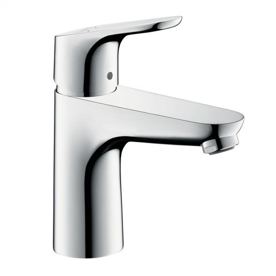 Hansgrohe Focus single lever basin mixer 100 LowFlow with pop-up waste set
