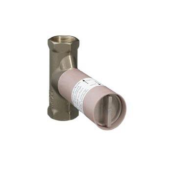 "Hansgrohe installation unit shut-off valve 1/2"", ceramic"